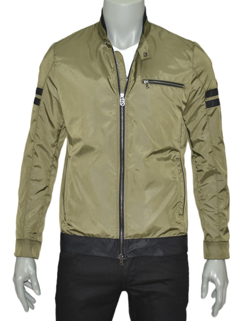 GREEN LIGHTWEIGHT JACKET