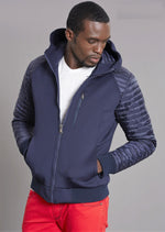 Navy New York Puffer Jacket