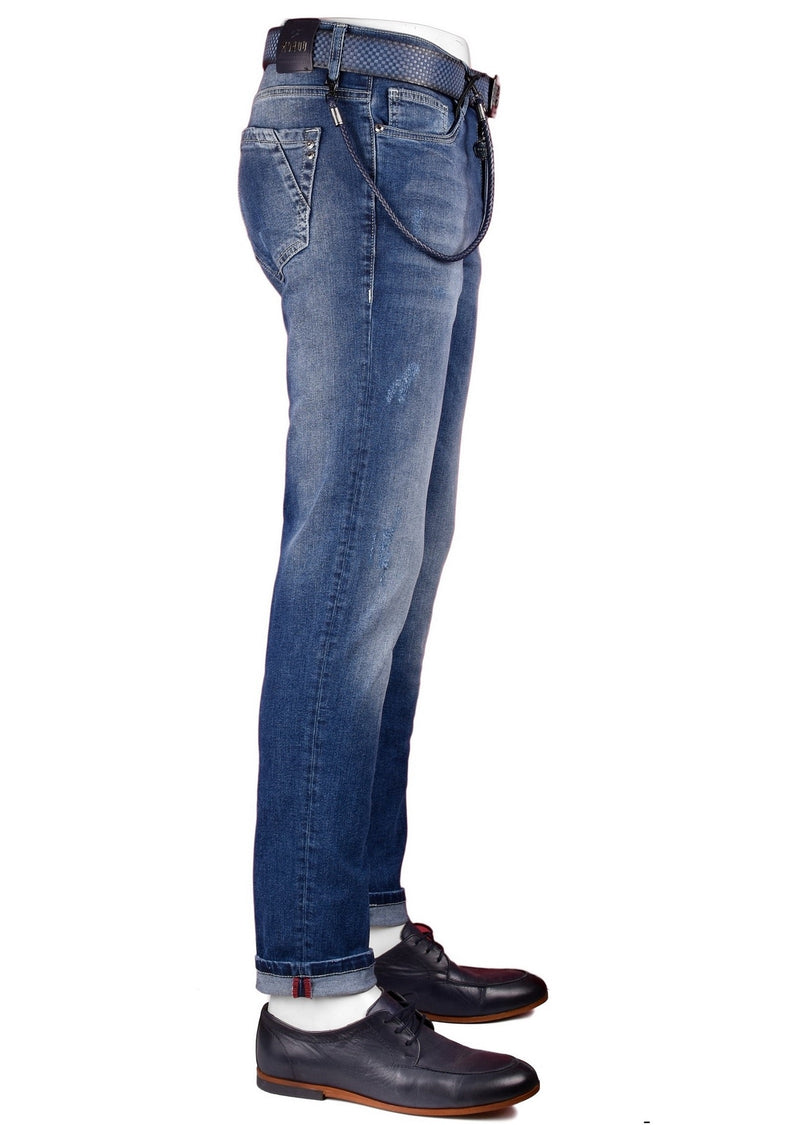 La Core Medium Wash Slim Fit Jeans