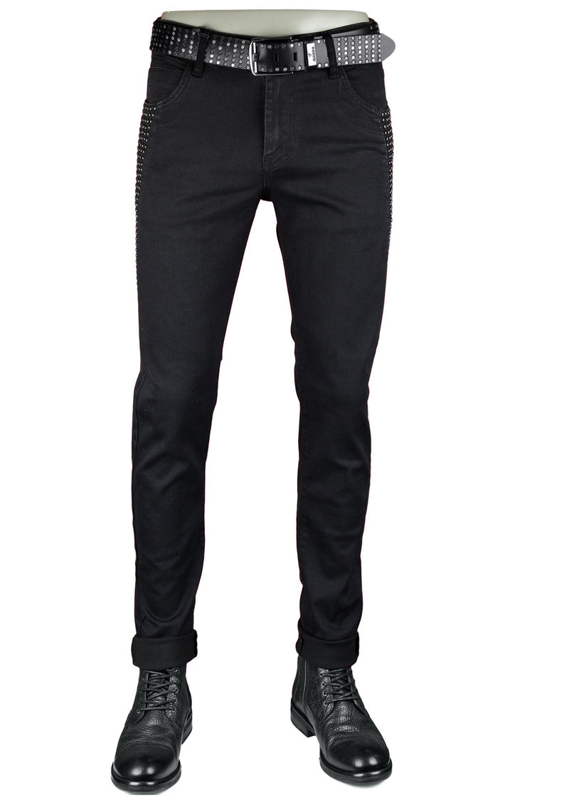 Black Studded Limited Edition Pants