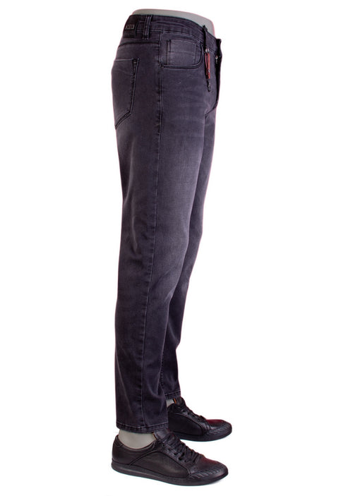 "Gray ""Melrose"" Lightweigh Slim Jeans"