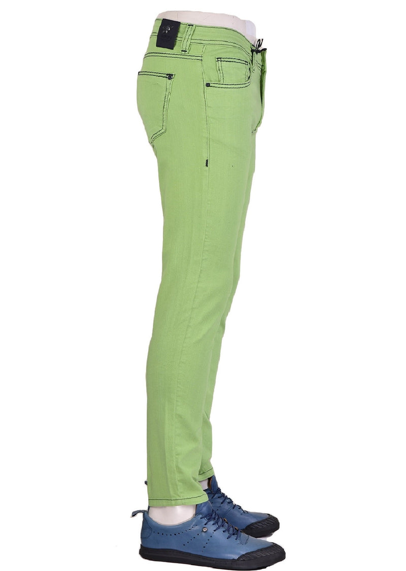 Green Luxe Slim Fit Jeans