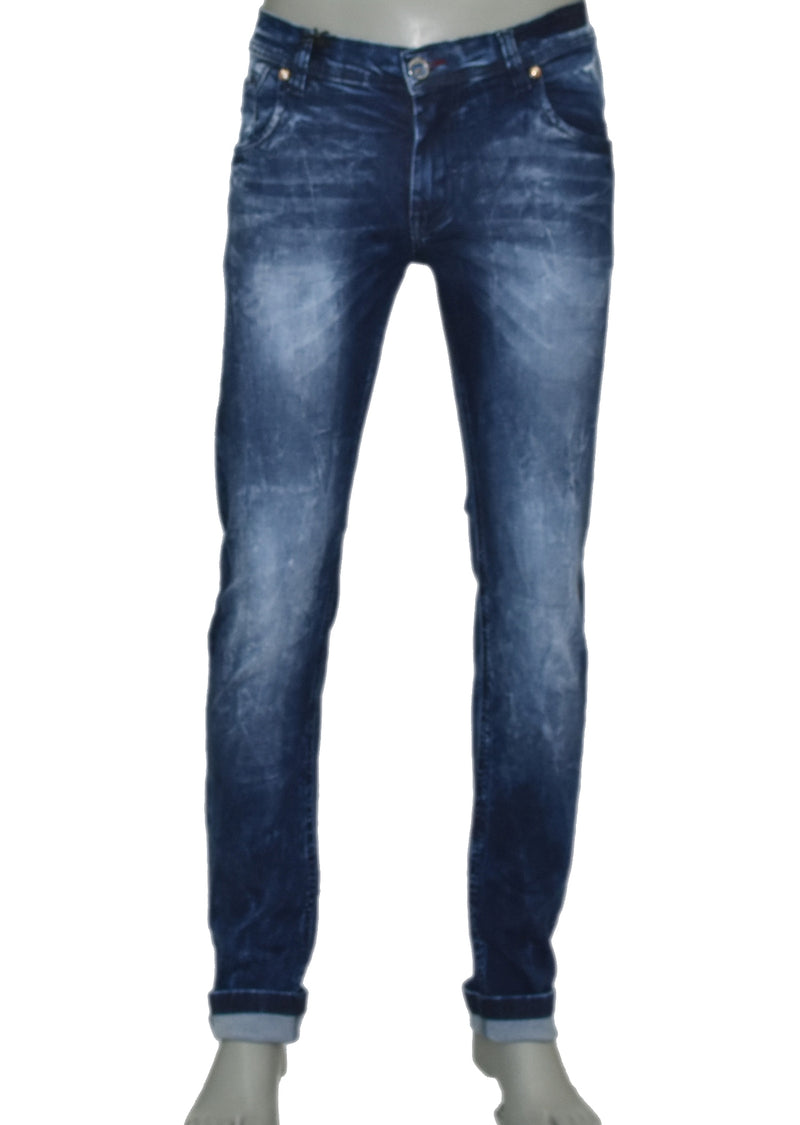 Dark Wash Stretch Slim Fit Jeans