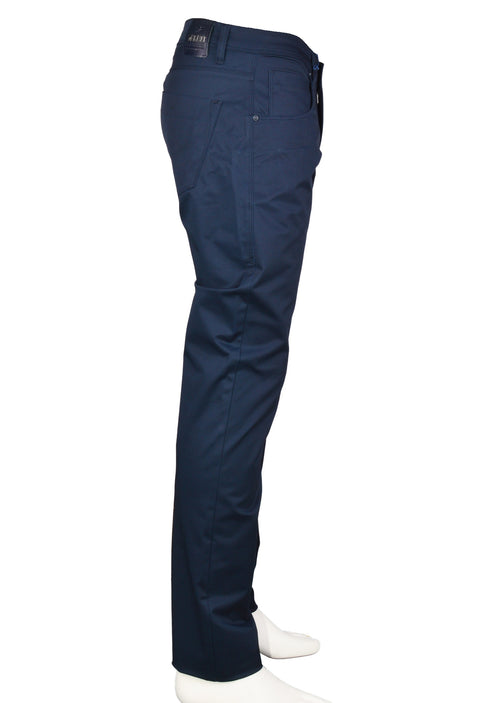 Navy Five Pocket Stretch Pants