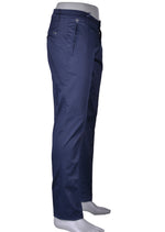"Navy ""Soho"" Five Pocket Stretch Pants"