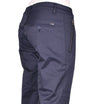 Navy Quilted Tech Vertical Zipper Stretch Pants