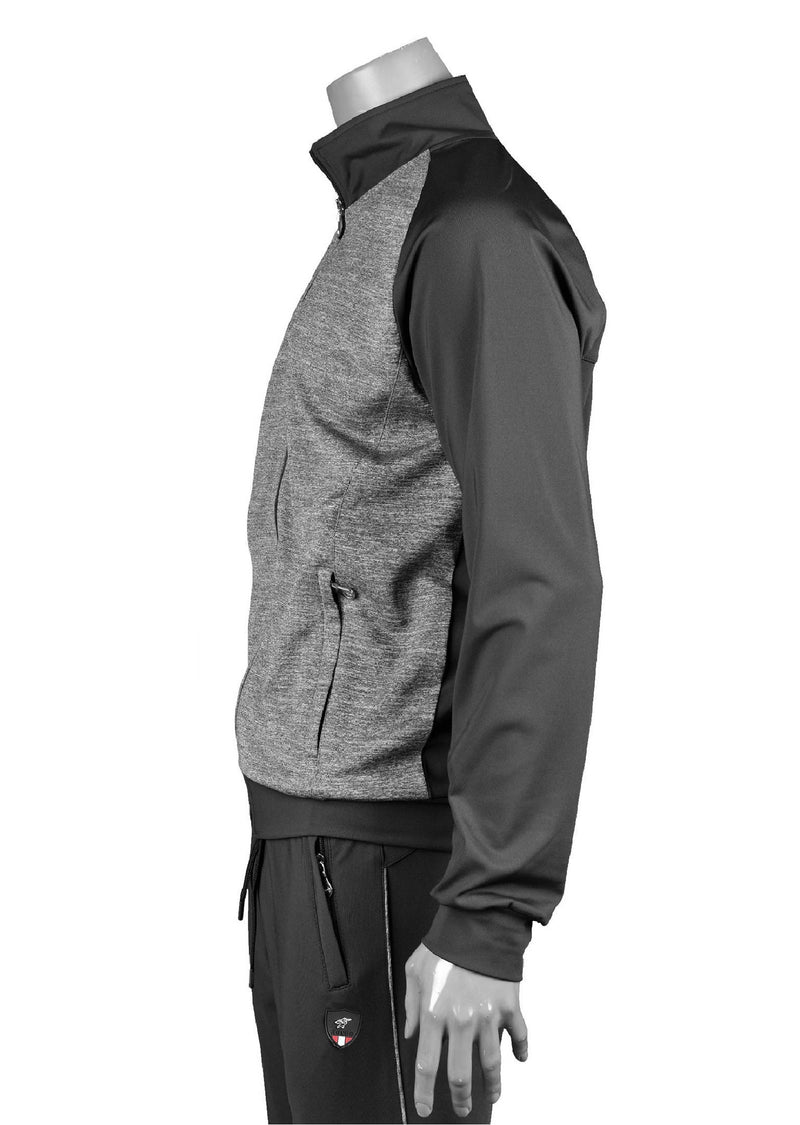 Black Performance 2-pieces Tracksuit