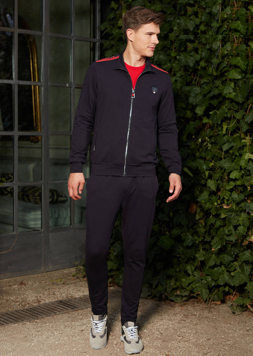 Navy Border 2-pieces Tracksuit