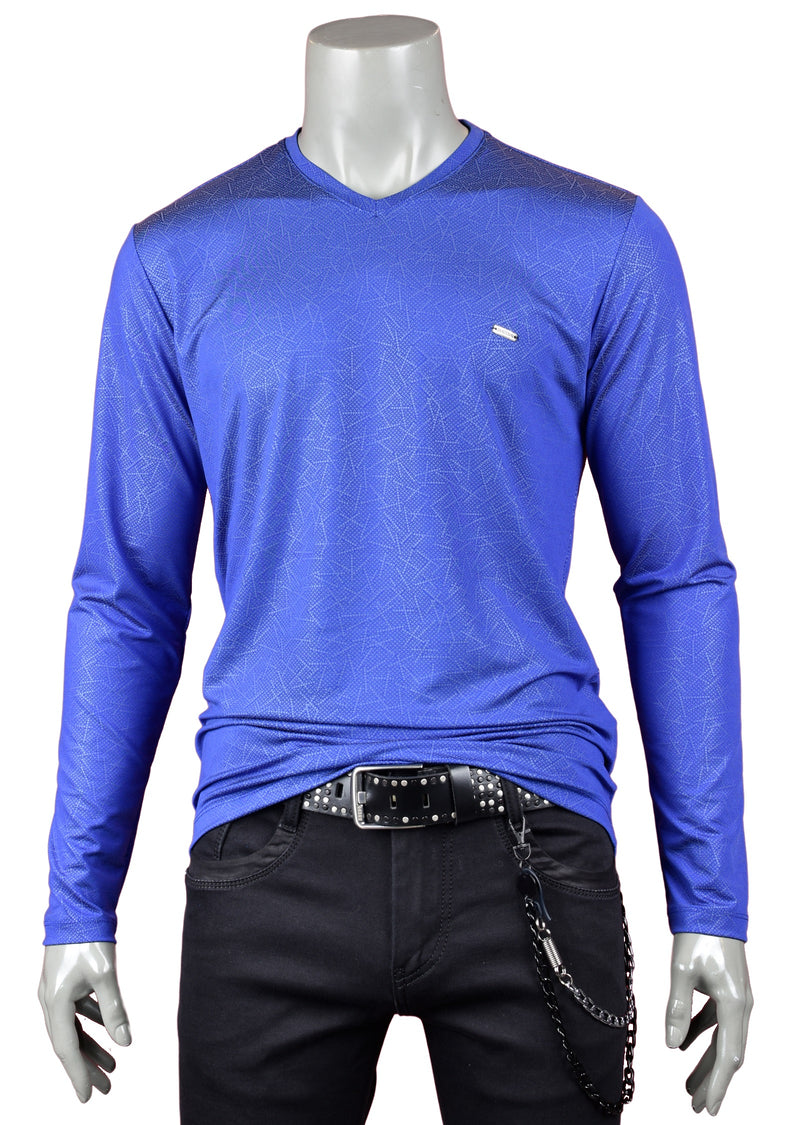 Blue Print Techno Long Sleeve Tee