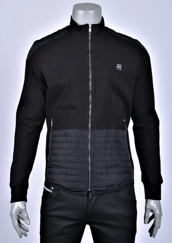 Black Lux Softshell Hybrid Jacket