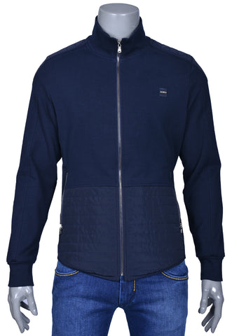 Navy Lux Softshell Hybrid Jacket