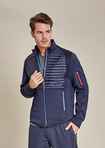 Navy Milan Quilted Jacket