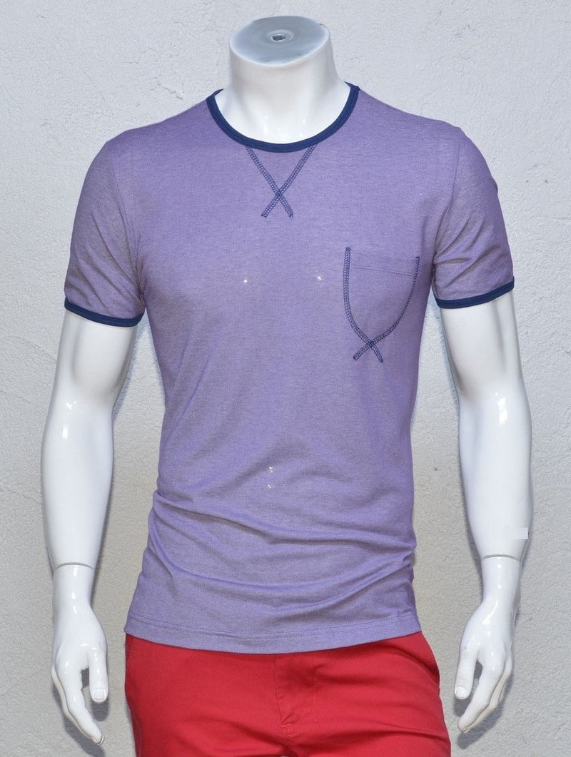 Purple Casual Tee