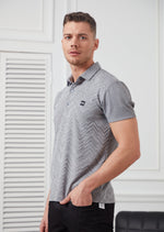 Light Gray Technical Performance Polo