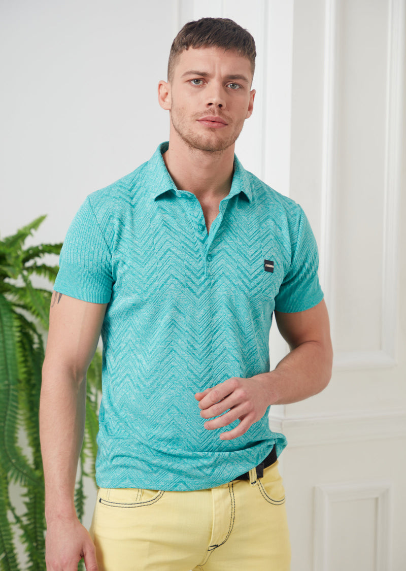 Green Technical Performance Polo