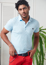 Blue Technical Performance Polo