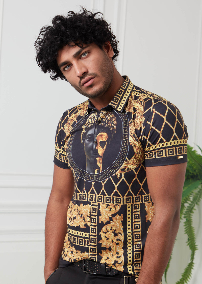 Black Gold Alexander Silky Polo