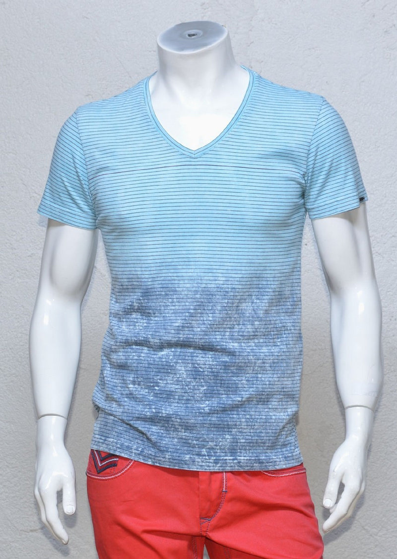 Light Blue Degraded Tee