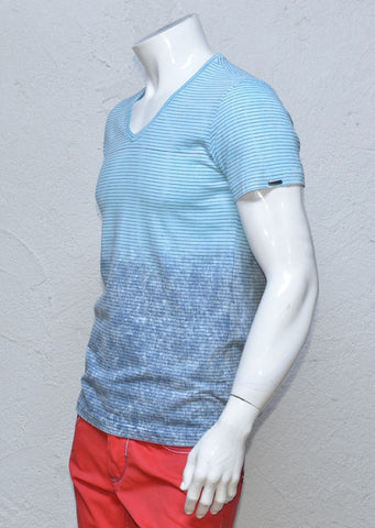 LIGHT BLUE DEGRADED TSHIRT