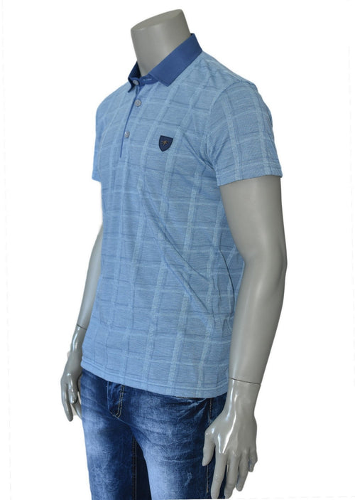 LIGHT BLUE CASUAL POLO