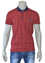 Burgundy Casual Polo