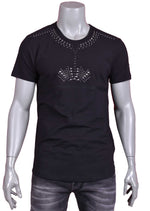 Black Studded Detailed Tee
