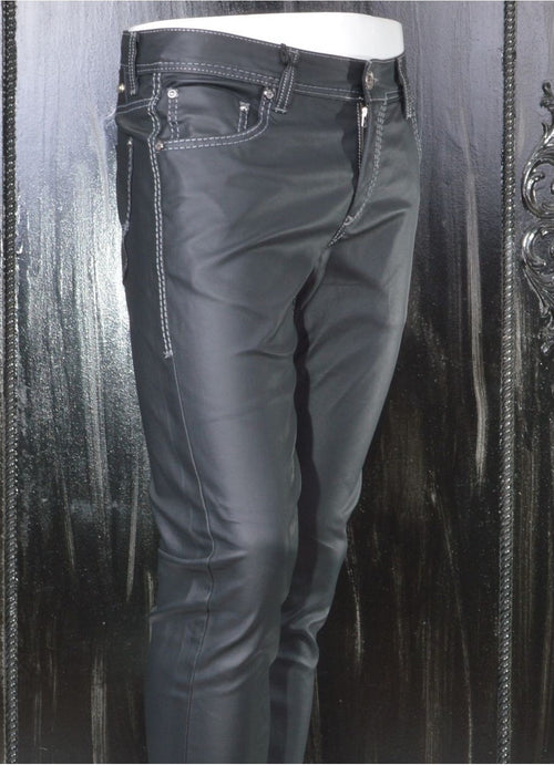 Black Techno Pants