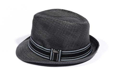 "BLACK ""MIDNIGHT"" FEDORA"
