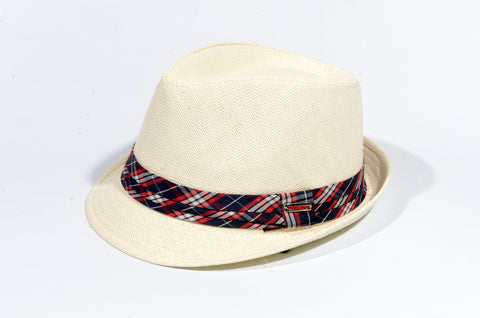 "BEIGE ""SUNSET"" HAT BEIGE TRILBY"