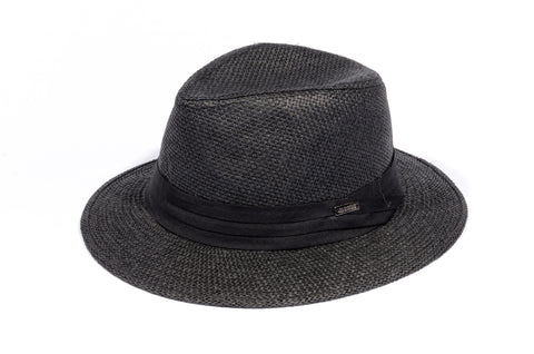 "BLACK ""TIMELESS"" FEDORA"