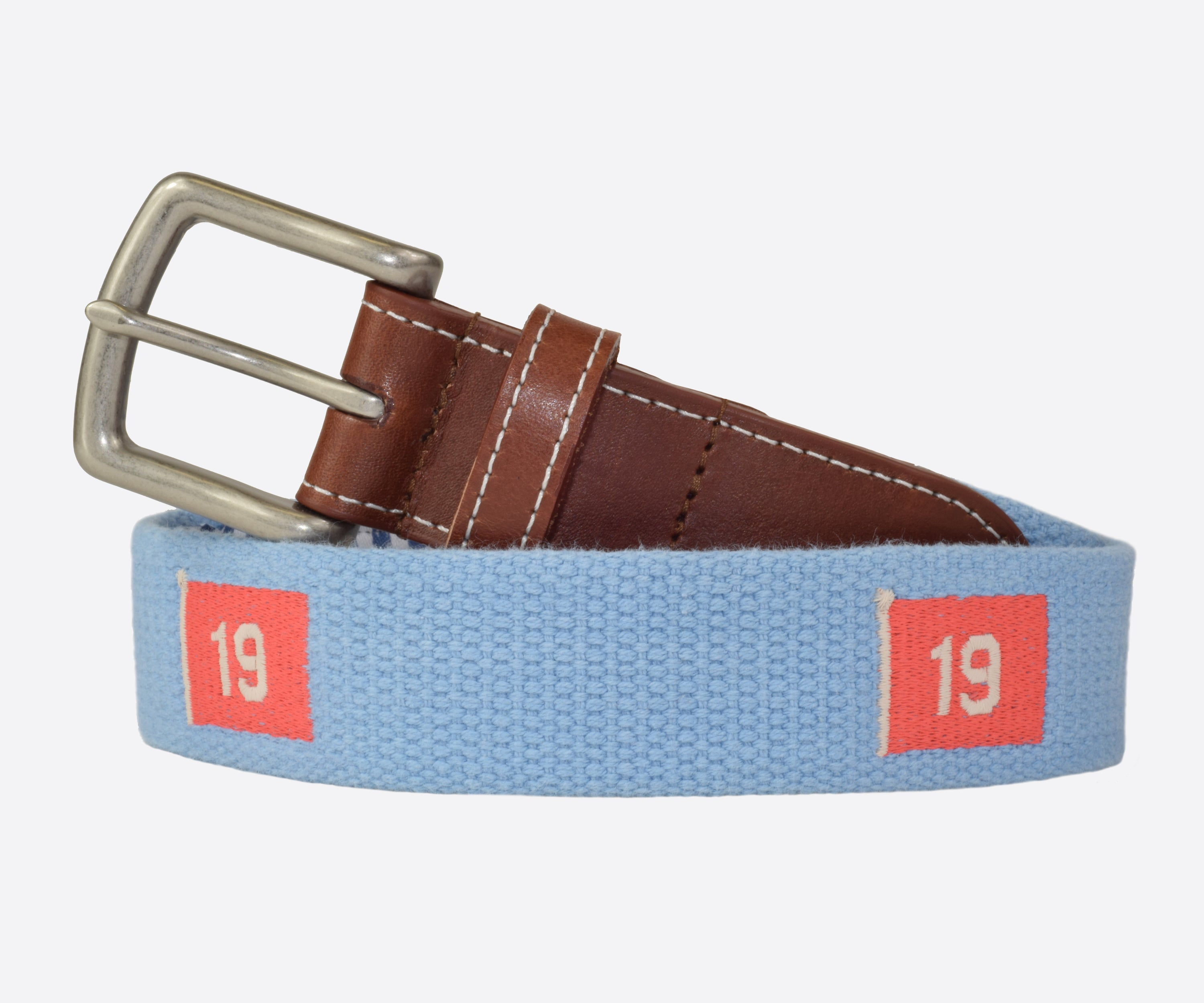 19th Hole Golf Belt (tarheel blue)