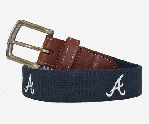 Peter Millar Atlanta Braves Belt