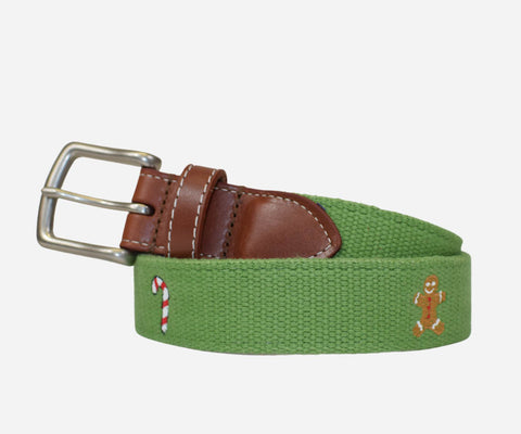 Candy Cane and Gingerbread Man Belt (Kerry Green)