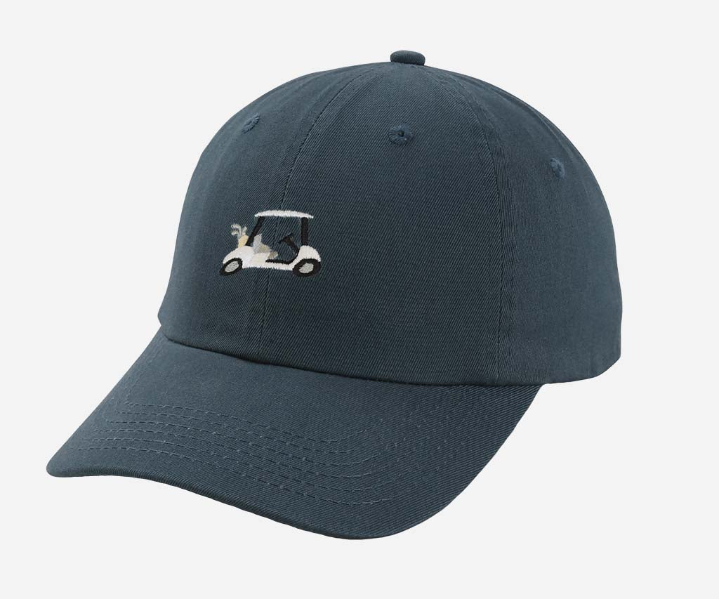 Golf Cart Hat (Slate Blue)