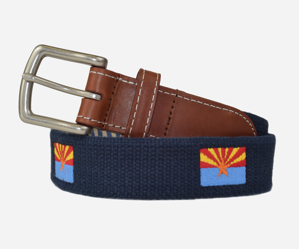 Arizona State Flag Belt (patriot navy)