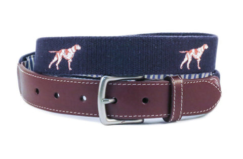 Bird Dog Belt (patriot navy)