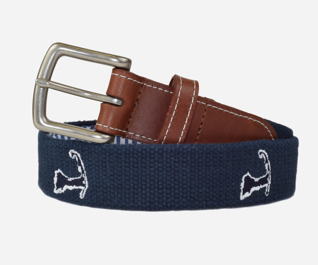 Cape Cod Belt (patriot navy)