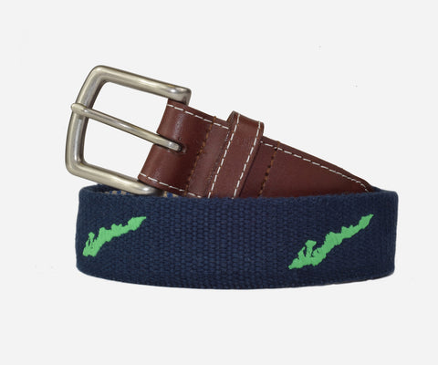 Fishers Island Belt (patriot navy)