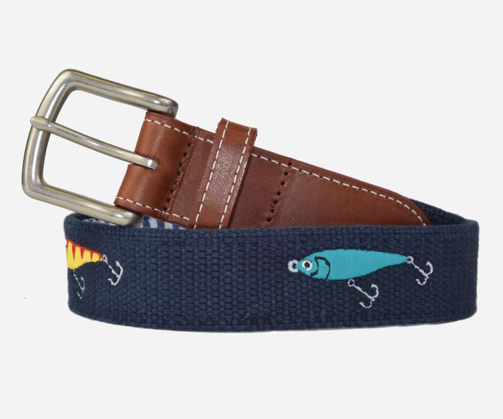 Fishing Lures Belt (patriot navy)