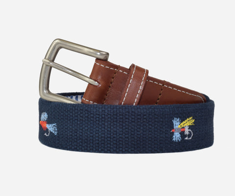 Fly Fishing Belt (patriot navy)