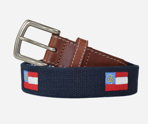 Georgia Flag Belt (patriot navy)