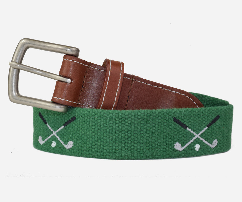 Golf Clubs Belt (erin green)