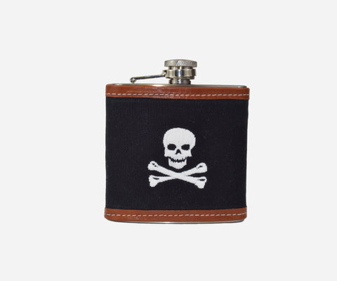 Jolly Roger Flask (black)