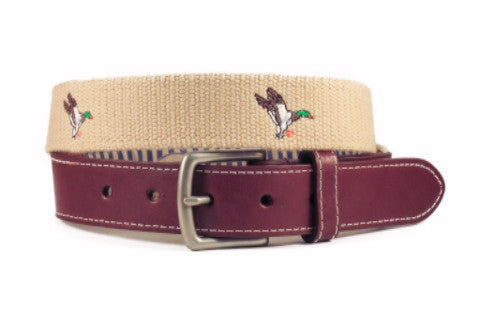 Mallard Duck Belt (khaki)