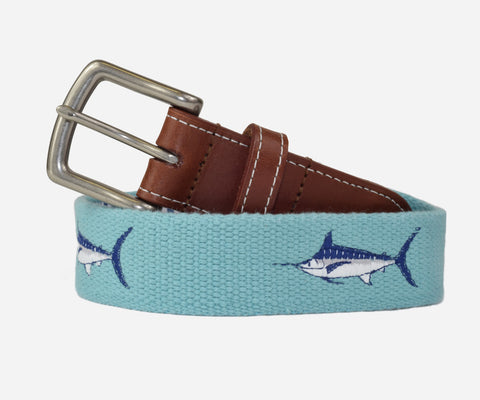 Marlin Belt (Nile Blue)
