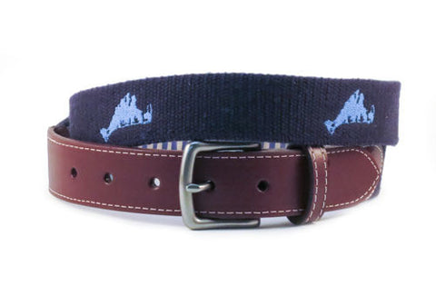Martha's Vineyard Belt (patriot navy)