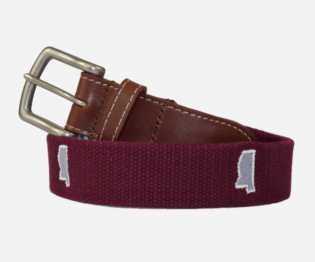Mississippi Tailgate - Maroon & Grey