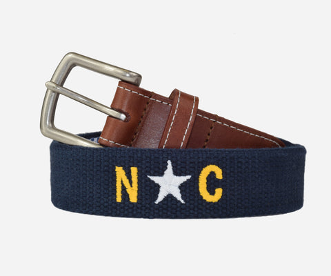 North Carolina Star Belt (patriot navy)