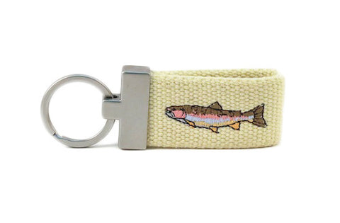 Rainbow Trout Key Fob
