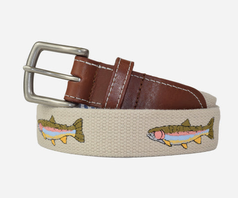 Rainbow Trout Belt (stone)